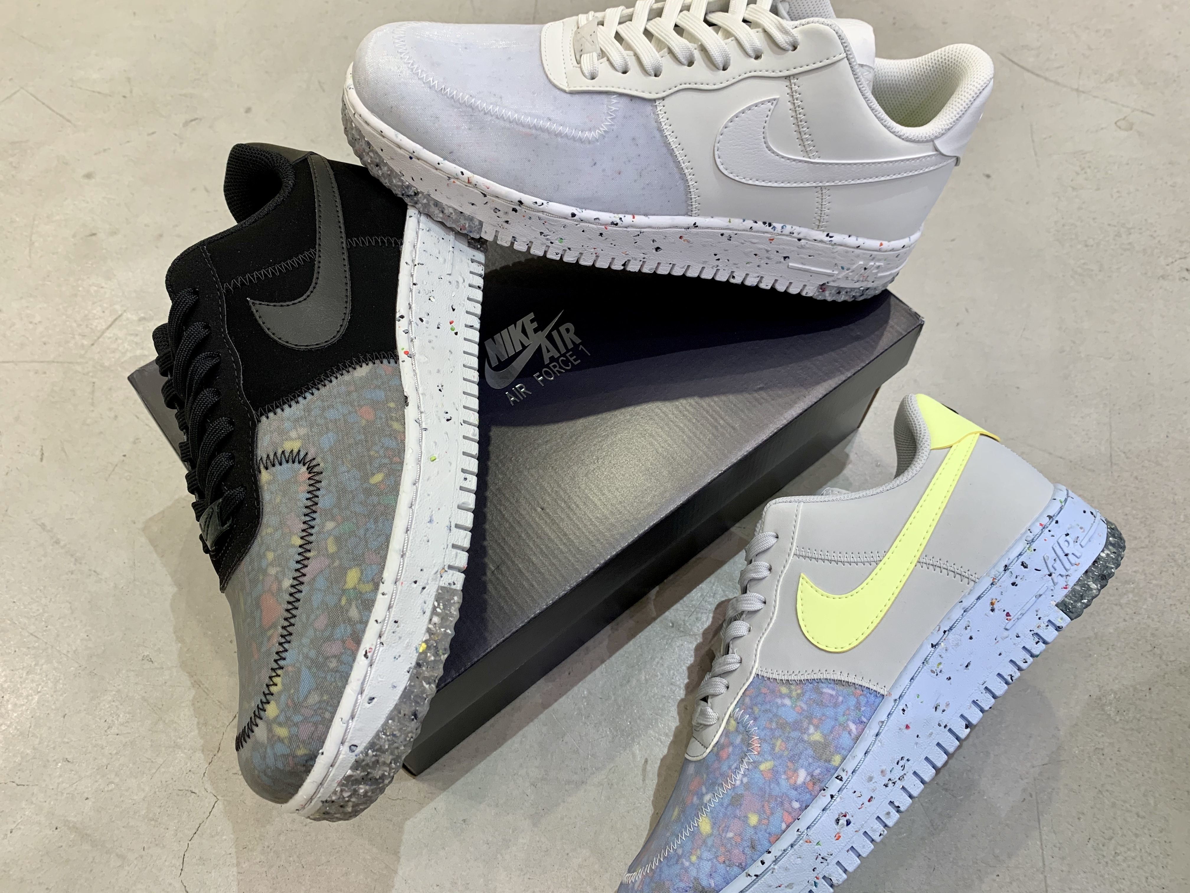 nike air force in store